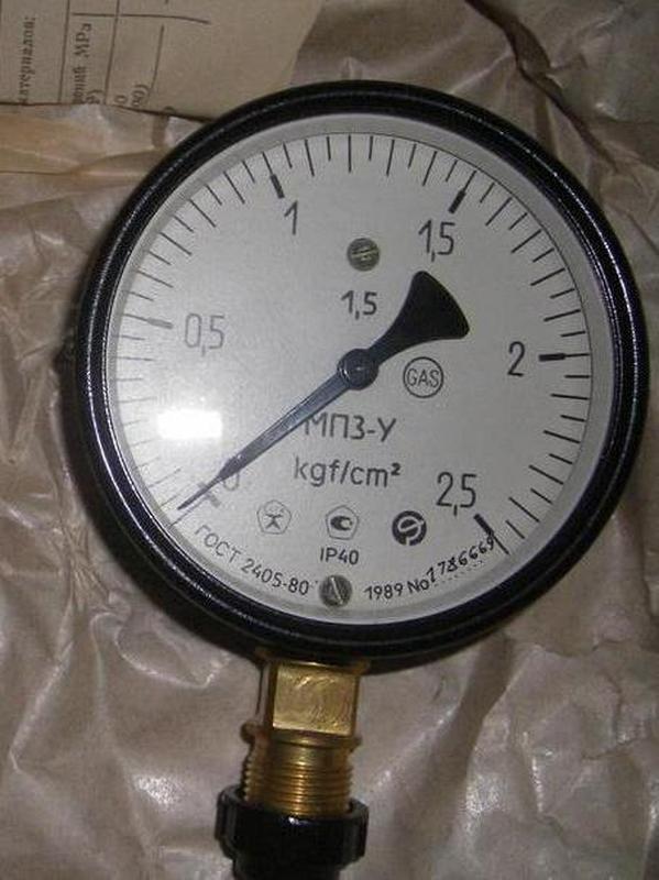 Манометр мп3у 0-2.5 кг/см., мановакуумметр мвп3у -1-0+3 кг/см