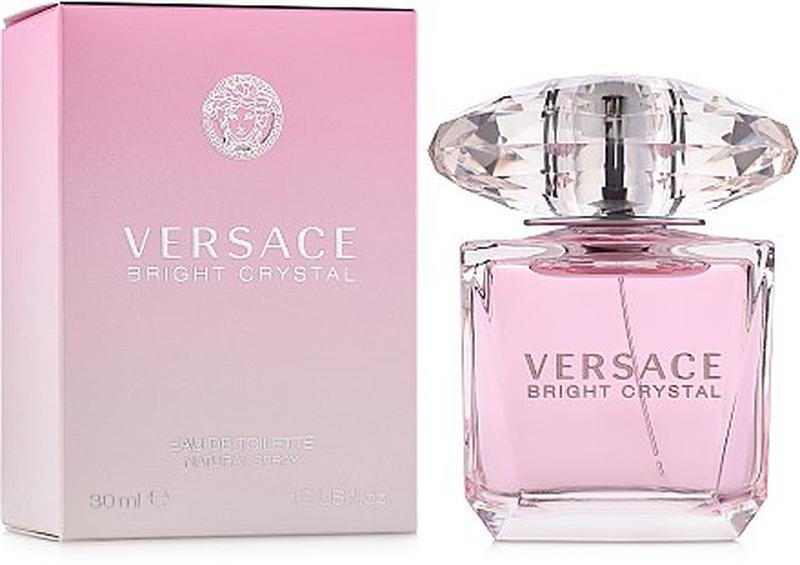 Versace bright crystal женская  туалетная вода 30мл