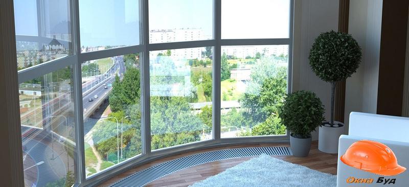 Остекление Балкона Киев от 5500 грн.