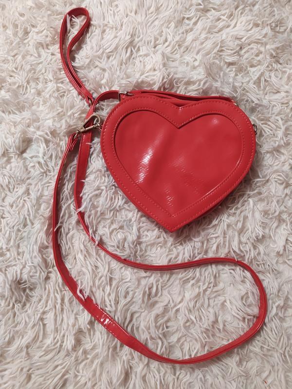 Сумка в формі серця сердце