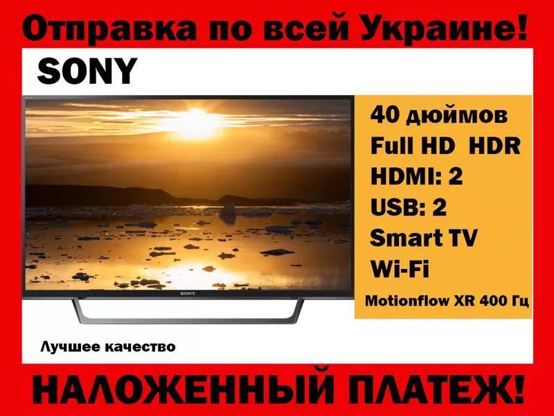 Телевизор SONY LED KDL-40WE660/665 Smart tv смарт тв 40 дюймов