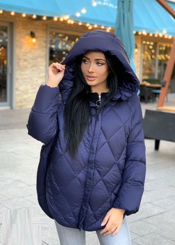 Стильная женская куртка еврозима‼️ оверсайз*