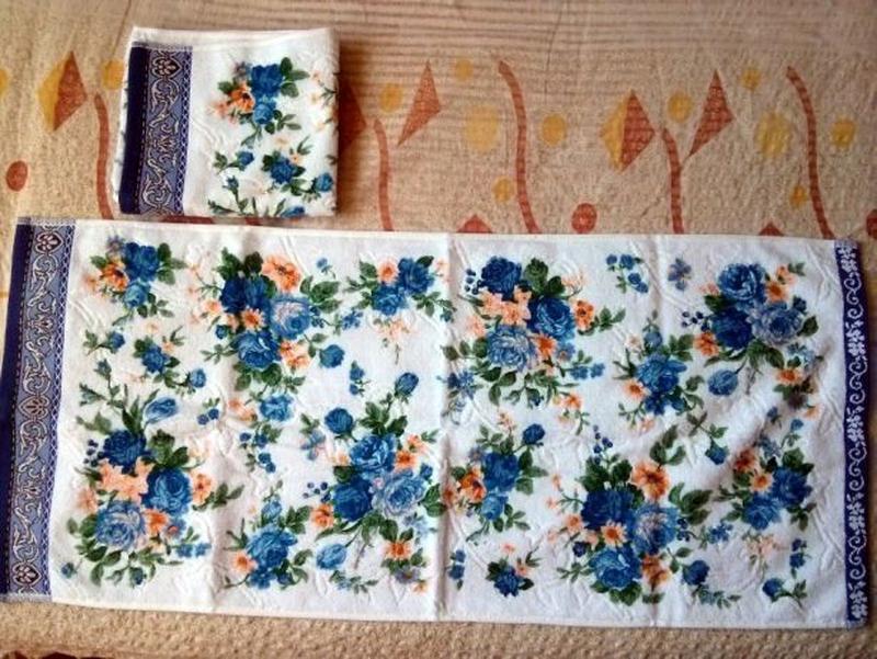 Набор полотенец махровых, для кухни 2 шт. 76х34