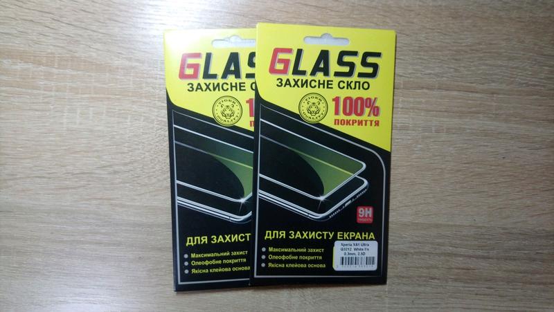 Защитное стекло на Sony Xperia XA1 ULTRA, XA1 PLUS