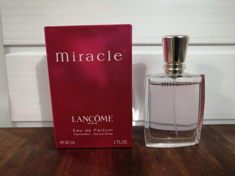 Туалетная вода lancome miracle women's 1-ounce eau de parfum s...