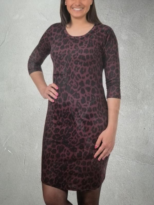 Платье-туника в стиле леопарда германия
