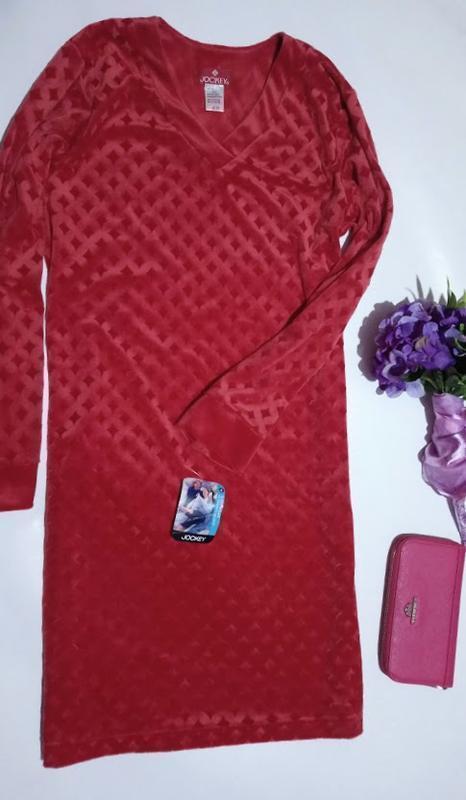 Новое домашнее  платье ,велюр.👗 ромбы jockey