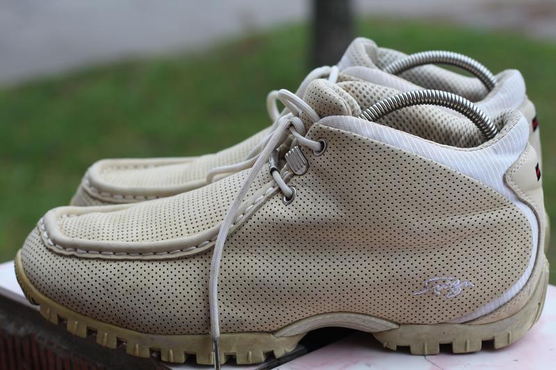 Стильные кожаные ботинки 45-46