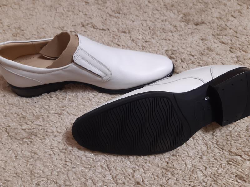 Кожаные туфли,новые