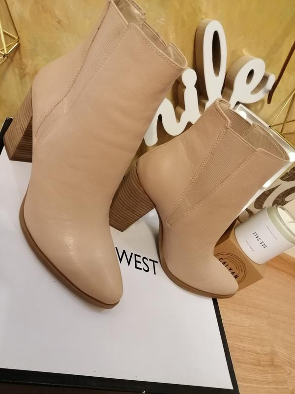 Ботинки челси полусапожки nine west