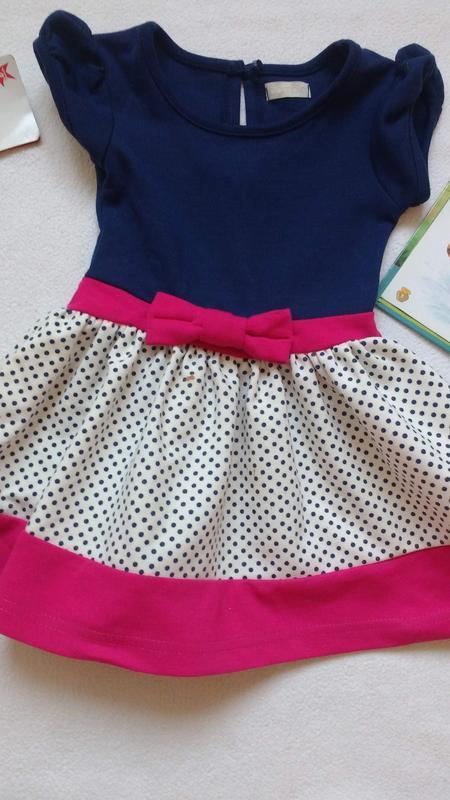 """Стильное платьице bambin от """"bhs"""", 6-9 месяцев, 74 см"""