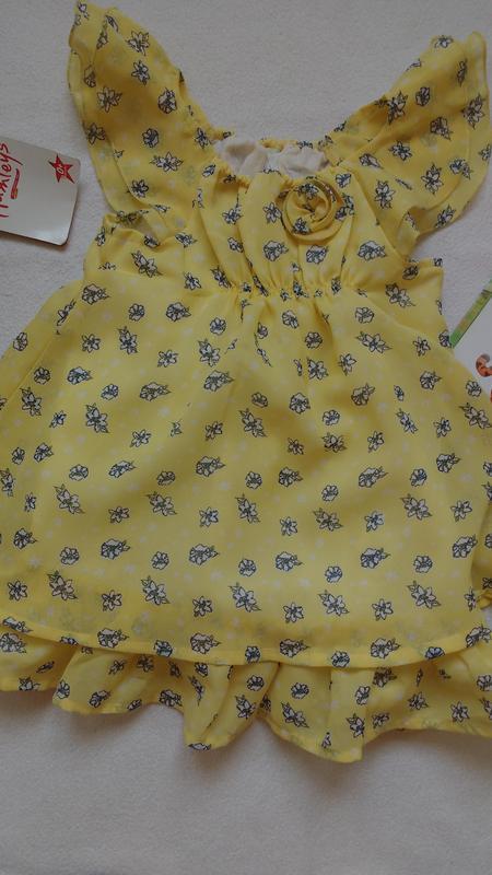 """Лёгкое милое платье """"matalan"""", 12-18 месяцев"""