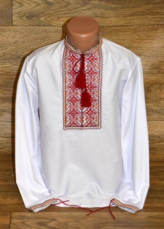 Вишиванка, вышиванка, рубашка-вышиванка для мальчика 9-10 лет