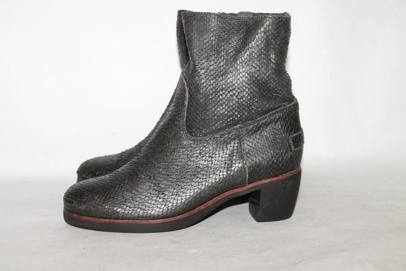 Shabbies amsterdam стильные кожаные ботинки 38 размер 100% нат...