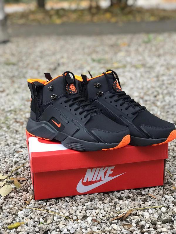 Nike air huarache acronym 🤗 мужские зимние кроссовки термо чер...