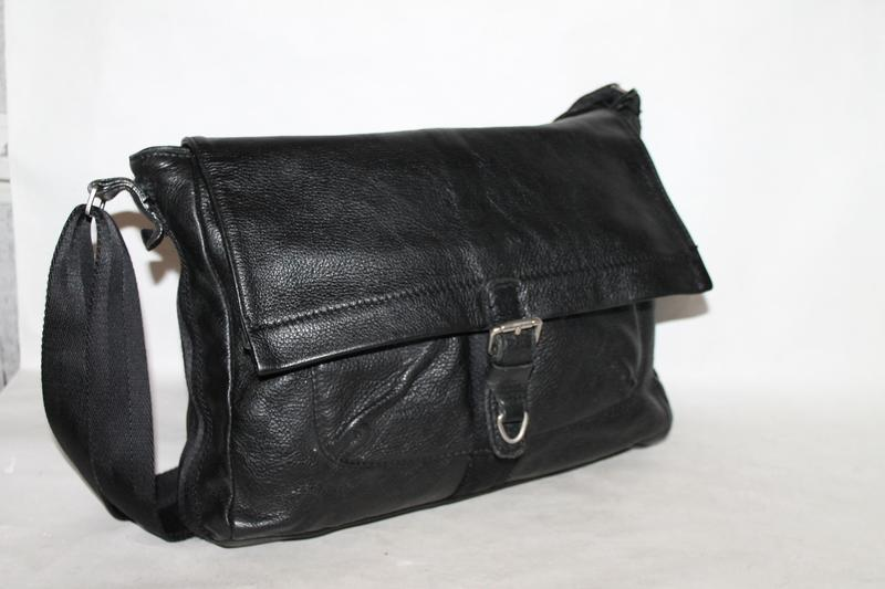 Мужская кожаная сумка 100% натуральная кожа