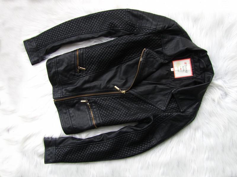 Стильная кожаная  куртка косуха tammy girls bhs