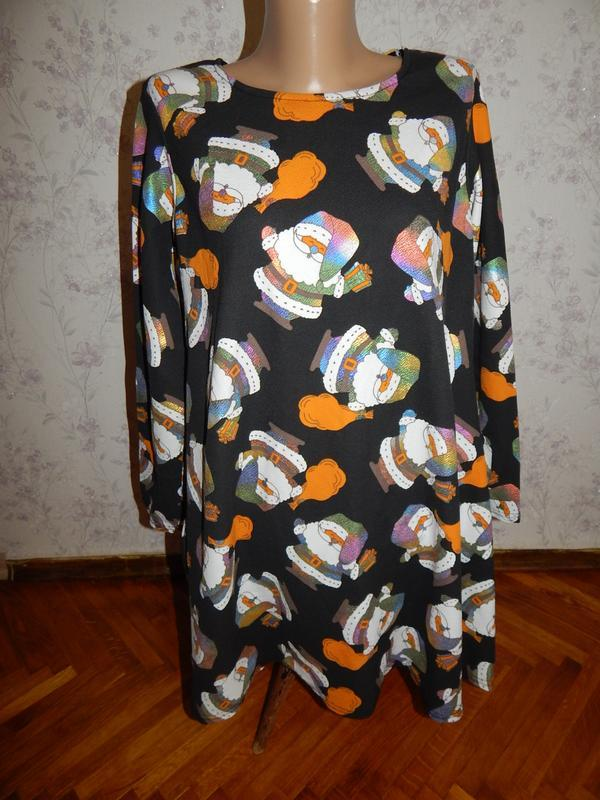 Платье новогоднее новое р l/xl miss look