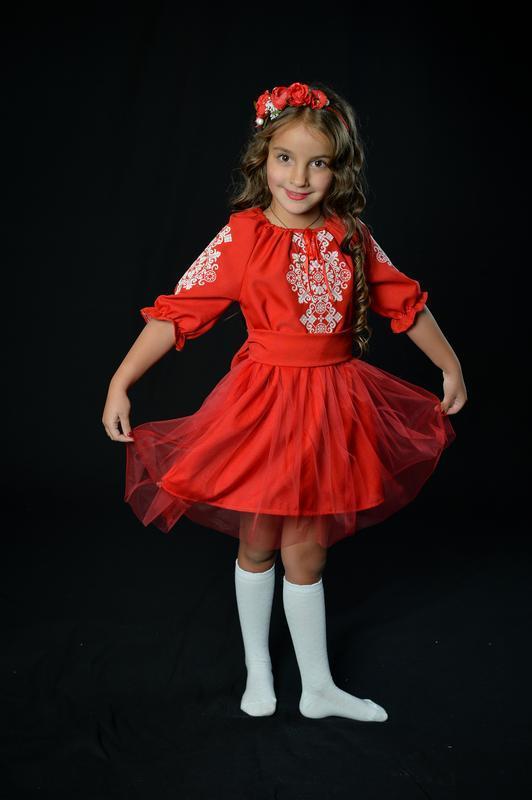"Вишиванка вышиванка платье нарядное платье-вышиванка ""сказка"" ..."