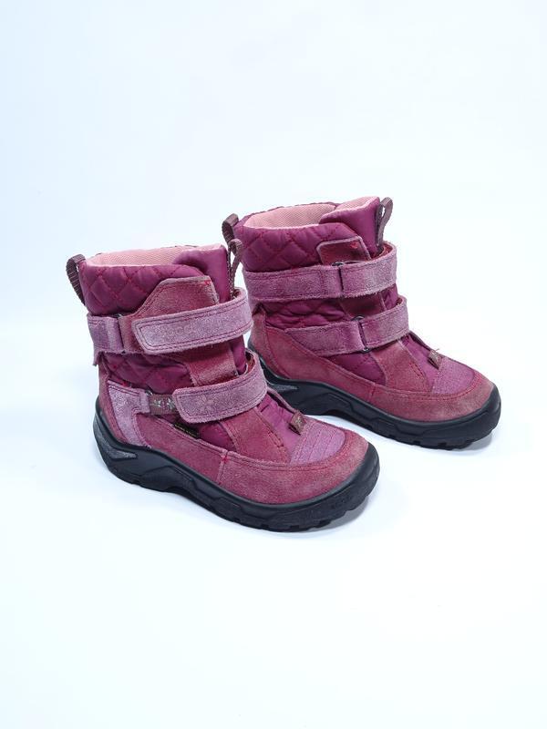 Оригинальные термо ботинки ecco (мембрана gore-tex)