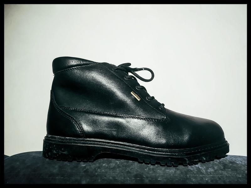 Осенние кожаные мужские ботинки safety jolly gore-tex, италия
