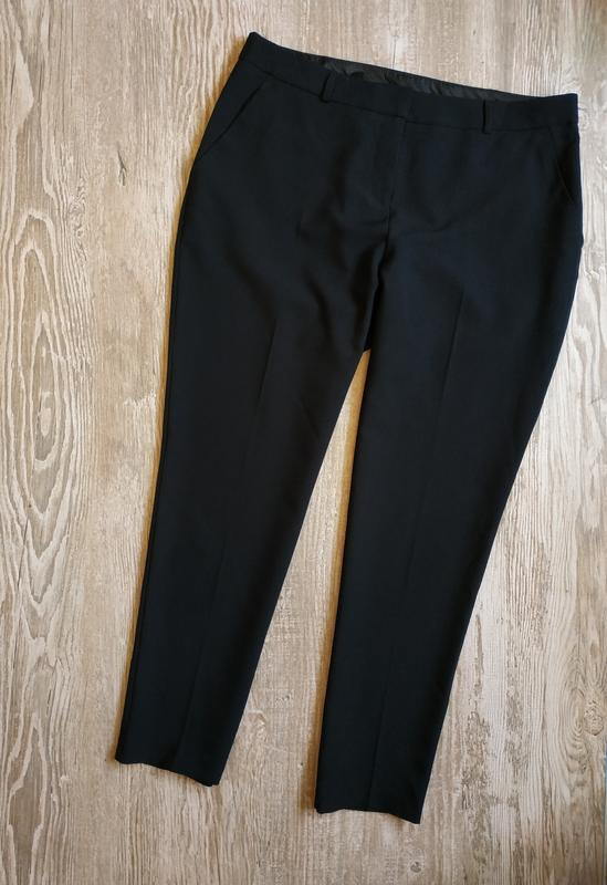 Зауженные укороченные брюки bhs размер 14