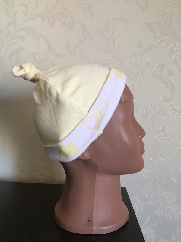 Двухслойная шапочка matalan на 0-3 месяца