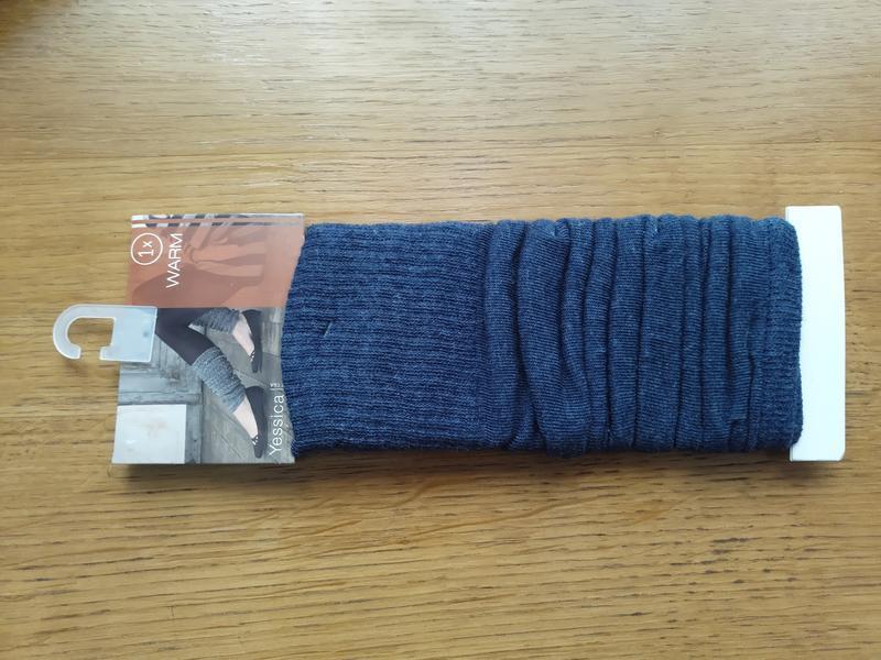 Гетри бавовняні темно-сині з німеччини гетры хлопковые