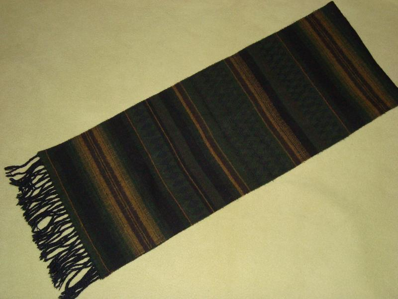 Теплий шерстяний шарф теплый шерстяный