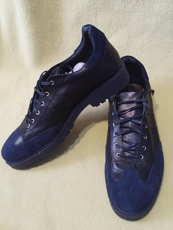 Туфлі броги замшеві шкіряні туфли замшевые кожаные