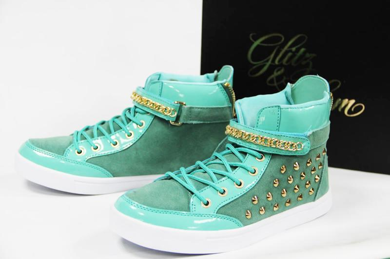 Кеды замшевые кроссовки glitz&glam кеди замшеві кросівки натур...