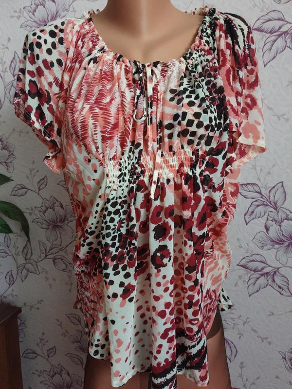 Красивая нежная блуза блузка