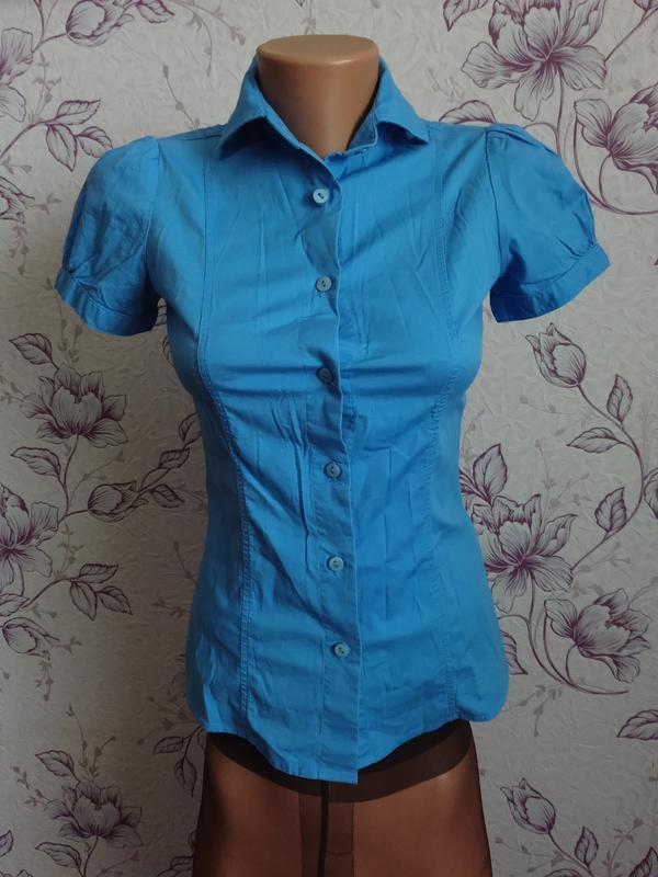 Натуральная хлопковая рубашка