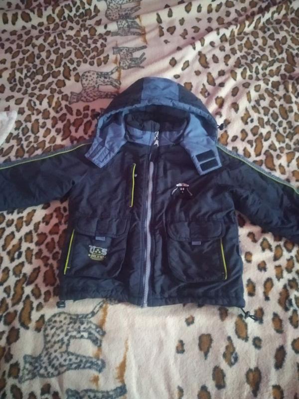 Курточка двойка 98-106