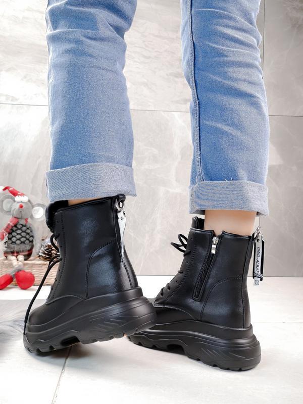 Новиночка стильные зимние ботиночки