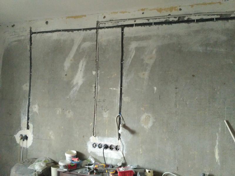 Замена старой проводки на новую в квартирах, домах и офисах