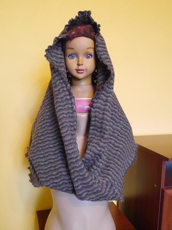 Снуд-шарф-хомут теплий 60х40х47 invero