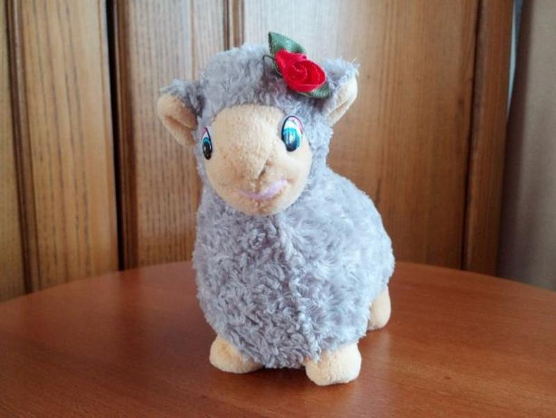 Мягкая игрушка овечка. М'яка іграшка