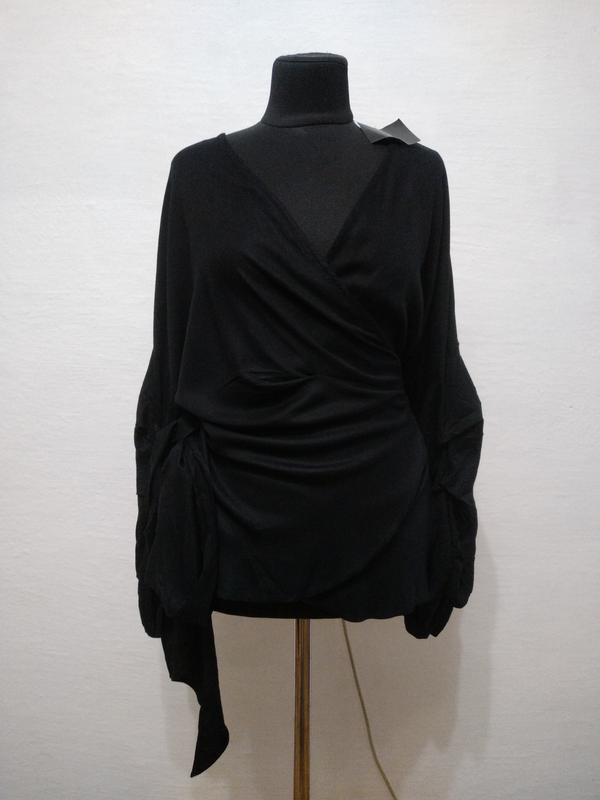 Стильная шикарная блуза большого размера