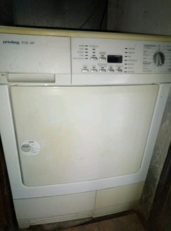 Сушильная машина PRIVILEG 9750 WP конденсационная