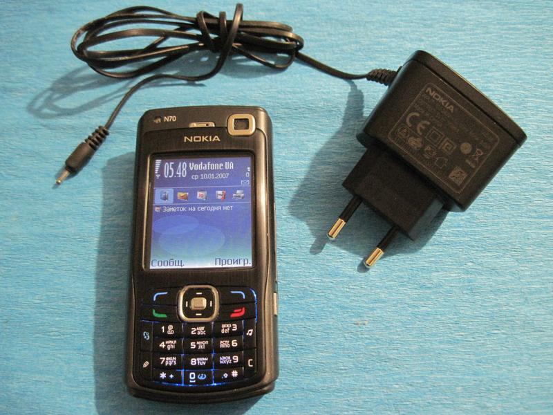 Телефон Nokia N70 рабочий отличное состояние