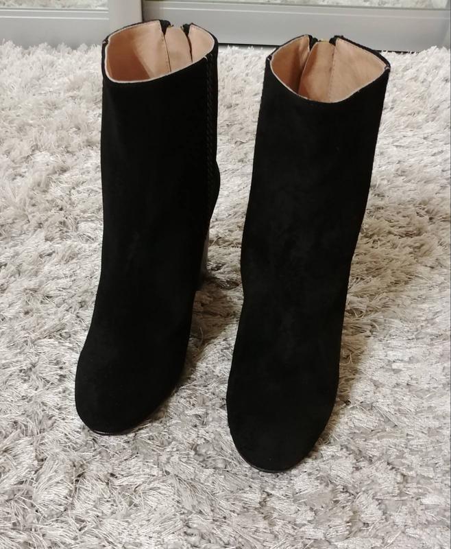 Шикарні черевички pommeline від minelli нат.замш р.35. - Фото 2