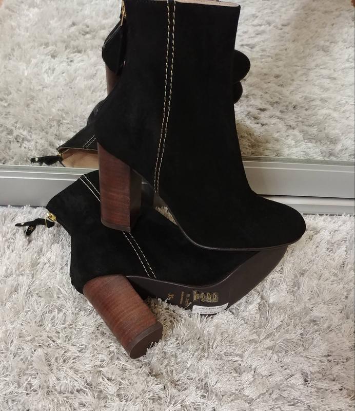 Шикарні черевички pommeline від minelli нат.замш р.35. - Фото 7