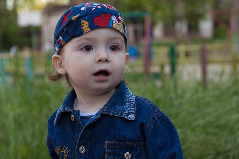 Детская съёмка - хорошая память
