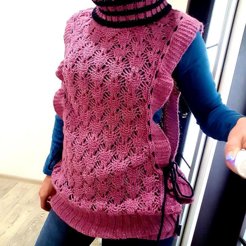 Платье туника сиреневая parkhand 44 46 m свитер жилетка