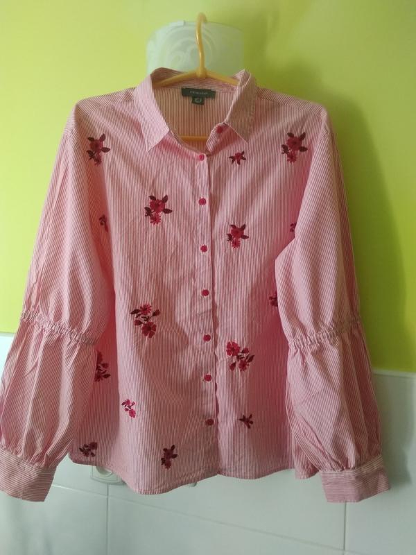 Рубашка вышивка primark
