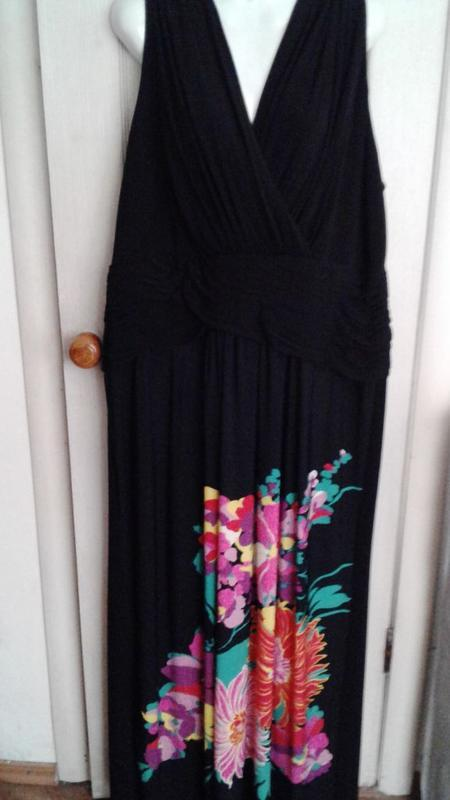 Платье макси 56-58р