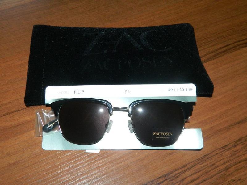 Zac posen filip clubmaster очки солнцезащитные