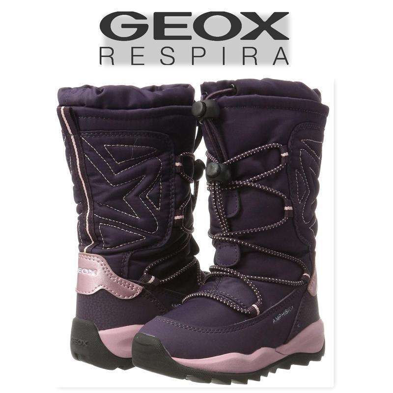 Geox сапоги ботинки зимние оригинал италия