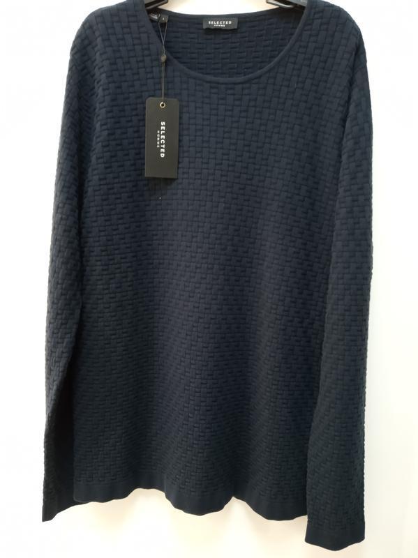 Мужской свитер из хлопка